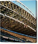 Seahawks Stadium 3 Canvas Print