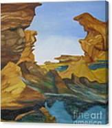 Seal Cove Canvas Print