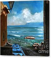 Sealight From Sicily Canvas Print