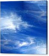 Seamless Background Sky Canvas Print