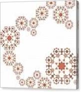 Seamless Retro Pattern Canvas Print