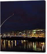 Sean Ocasey Bridge, Dublin Canvas Print