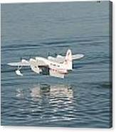 Seaplane Liftoff Canvas Print