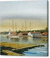 Seaport Lighthouse Canvas Print