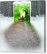 Searching Better Weather Canvas Print