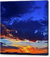 Searching The Painted Sky Canvas Print