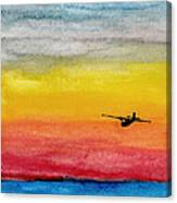 Searching The Vastness - Pby Catalina On Patrol Canvas Print
