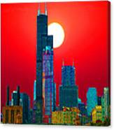 Sears Tower Willis Tower Chicago Canvas Print