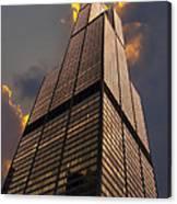 Sears Willis Tower Canvas Print