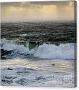 Seascape 1b The Sound  Canvas Print