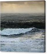 Seascape 2a The Sound Canvas Print