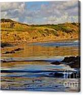Seascape At Phillip Island Canvas Print