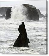 Seascape Bandon Oregon 1 Canvas Print