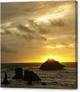 Seascape Oregon Coast 2 Canvas Print
