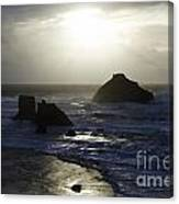 Seascape Oregon Coast 4 Canvas Print
