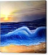 Seascape Wave Canvas Print