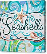 Seashells IIi Canvas Print