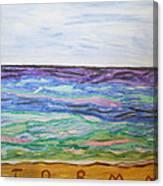 Sunny Seashore  Canvas Print