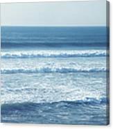 Seaside Blue Canvas Print