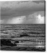Seaside Rainstorm 2 Canvas Print