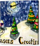 Seasons Greetings Canvas Print