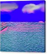 Sea.sun Canvas Print