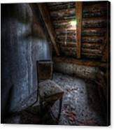 Seat In Darkenss Canvas Print