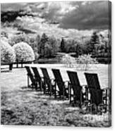 Seating For Six Canvas Print