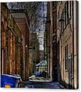 Seattle Alleyway Canvas Print