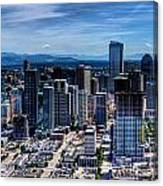 Seattle City Canvas Print