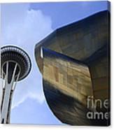 Seattle Emp Building 4 Canvas Print