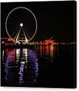 Seattle Ferris Wheel  Canvas Print