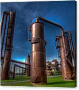 Seattle Gas Works Park Canvas Print