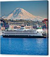 Seattle Harbor Canvas Print