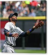 Seattle Mariners V Chicago White Sox Canvas Print