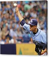 Seattle Mariners V Tampa Bay Rays Canvas Print