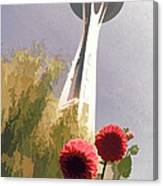 Seattle Needle One Canvas Print