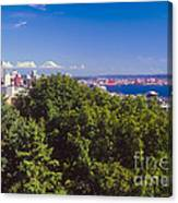 Seattle On Puget Sound Canvas Print