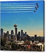 Seattle Seafair Canvas Print