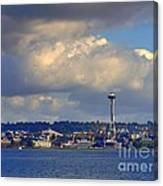 Seattle Skyline 2 Canvas Print