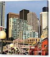 Seattle Skyline. Canvas Print