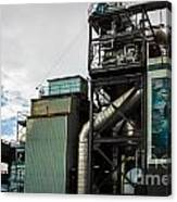 Seattle Steel And Sky Canvas Print