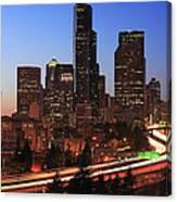 Seattle Traffic Canvas Print