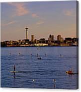 Seattle Waterfront 2 Canvas Print