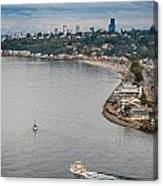 Seattle Waterfront 3 Canvas Print