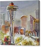 Seattle's Icon Canvas Print