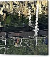 Seawalk Reflected Canvas Print