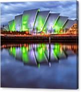 Secc Glasgow Scotland Canvas Print