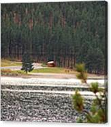 Secluded Cabin Canvas Print