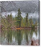 Secluded Cove Canvas Print